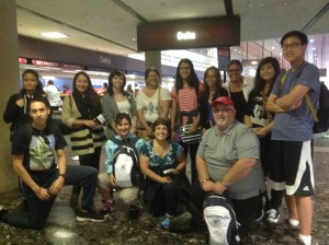 Our SWCTA group on June 9 just after checking in at airport!